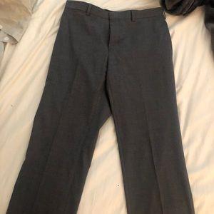 Ralph Lauren Men's Grey Dress Pants